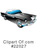 Royalty-Free (RF) Car Clipart Illustration #22027