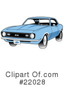 Royalty-Free (RF) Car Clipart Illustration #22028