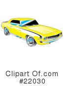 Royalty-Free (RF) Car Clipart Illustration #22030