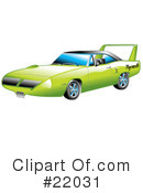 Royalty-Free (RF) Car Clipart Illustration #22031