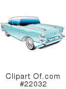 Royalty-Free (RF) Car Clipart Illustration #22032