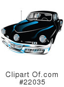 Royalty-Free (RF) Car Clipart Illustration #22035