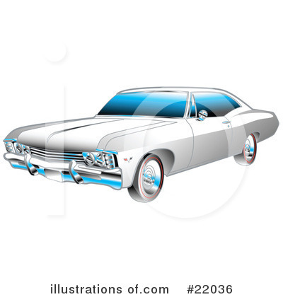 Royalty-Free (RF) Car Clipart Illustration by Andy Nortnik - Stock Sample #22036