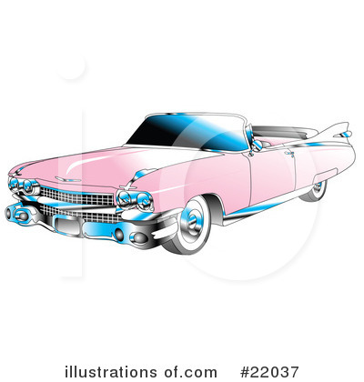 Royalty-Free (RF) Car Clipart Illustration by Andy Nortnik - Stock Sample #22037
