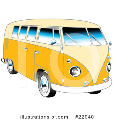 Bus Clipart #22040 by Andy Nortnik