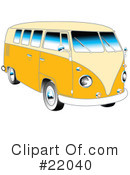 Royalty-Free (RF) Car Clipart Illustration #22040