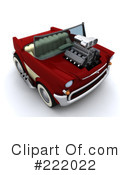 Royalty-Free (RF) car Clipart Illustration #222022