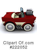 Royalty-Free (RF) Car Clipart Illustration #222052