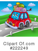Royalty-Free (RF) Car Clipart Illustration #222249