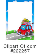 Royalty-Free (RF) Car Clipart Illustration #222257