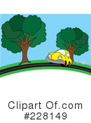 Royalty-Free (RF) Car Clipart Illustration #228149
