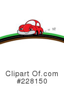 Royalty-Free (RF) Car Clipart Illustration #228150