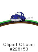 Royalty-Free (RF) Car Clipart Illustration #228153