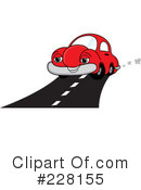 Royalty-Free (RF) Car Clipart Illustration #228155