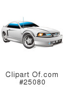 Royalty-Free (RF) Car Clipart Illustration #25080