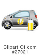 Royalty-Free (RF) Car Clipart Illustration #27021