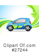 Royalty-Free (RF) Car Clipart Illustration #27244