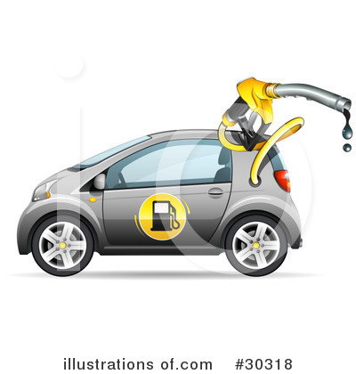 Royalty-Free (RF) Car Clipart Illustration by beboy - Stock Sample #30318