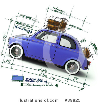 Car Clipart #39925 by Frank Boston