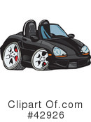 Car Clipart #42926 by Dennis Holmes Designs