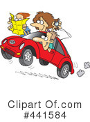 Royalty-Free (RF) Car Clipart Illustration #441584