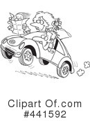 Royalty-Free (RF) Car Clipart Illustration #441592