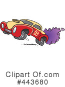 Royalty-Free (RF) Car Clipart Illustration #443680