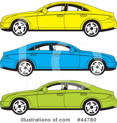Black White Clip  Auto Racing on Royalty Free  Rf  Car Clipart Illustration By Lal Perera   Stock