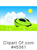 Royalty-Free (RF) car Clipart Illustration #45361