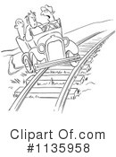 Car Pooling Clipart #1135958