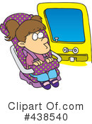 Royalty-Free (RF) Car Seat Clipart Illustration #438540