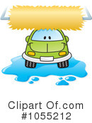 Royalty-Free (RF) car wash Clipart Illustration #1055212