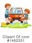 Royalty-Free (RF) Car Wash Clipart Illustration #1462331