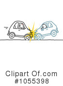 Royalty-Free (RF) Car Wreck Clipart Illustration #1055398