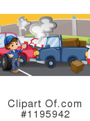 Car Wreck Clipart #1195942 by Graphics RF