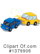 Royalty-Free (RF) Car Wreck Clipart Illustration #1379906