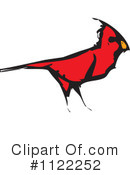 Royalty-Free (RF) cardinal bird Clipart Illustration #1122252