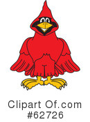 Cardinal Character Clipart #62726 by Toons4Biz