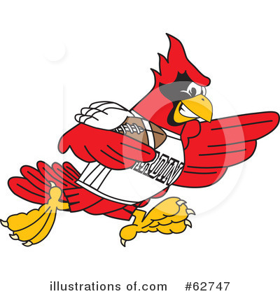 Cardinal Character Clipart #62747 by Toons4Biz