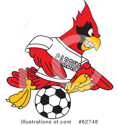 Cardinal Character Clipart #62748 by Toons4Biz