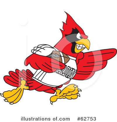 Cardinal Character Clipart #62753 by Toons4Biz