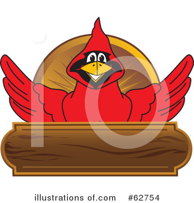 Cardinal Character Clipart #62754 by Toons4Biz
