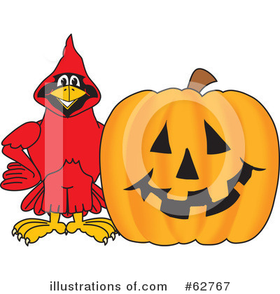 Cardinal Character Clipart #62767 by Toons4Biz