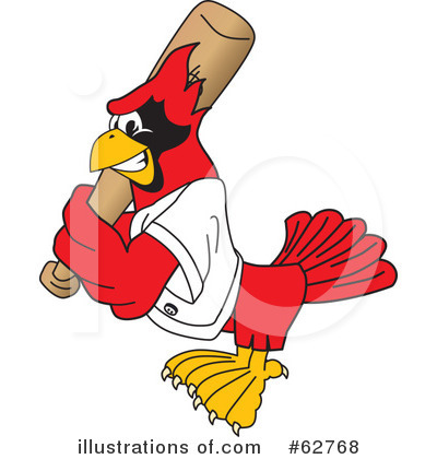 Cardinal Character Clipart #62768 by Toons4Biz