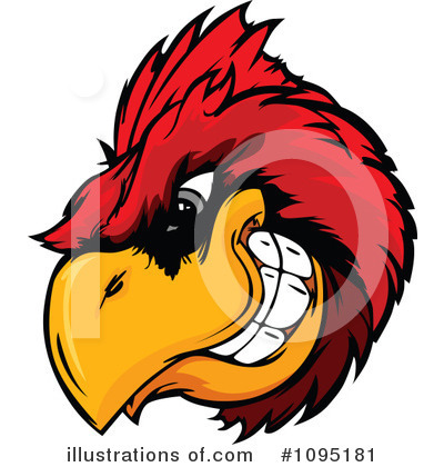 Cardinal Clipart #1095181 by Chromaco