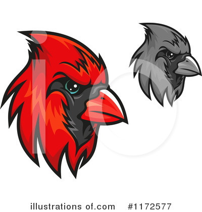 Cardinal Clipart #1172577 by Vector Tradition SM