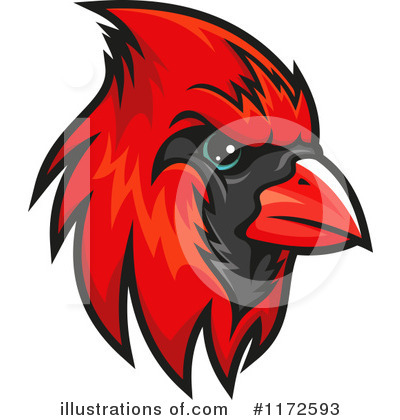 Cardinal Clipart #1172593 by Vector Tradition SM
