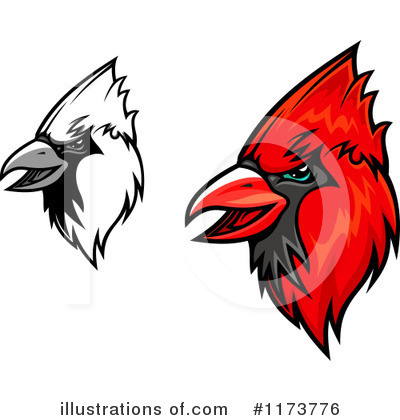 Cardinal Clipart #1173776 by Vector Tradition SM