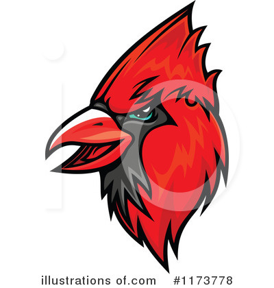 Cardinal Clipart #1173778 by Vector Tradition SM