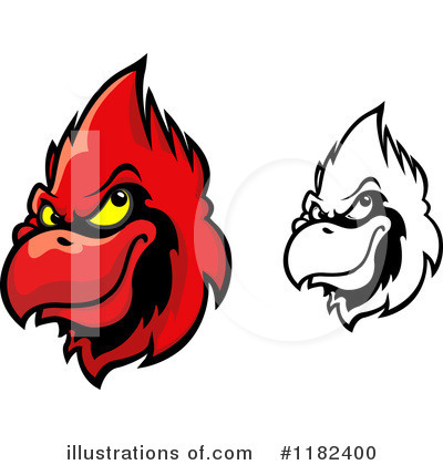 Cardinal Clipart #1182400 by Vector Tradition SM